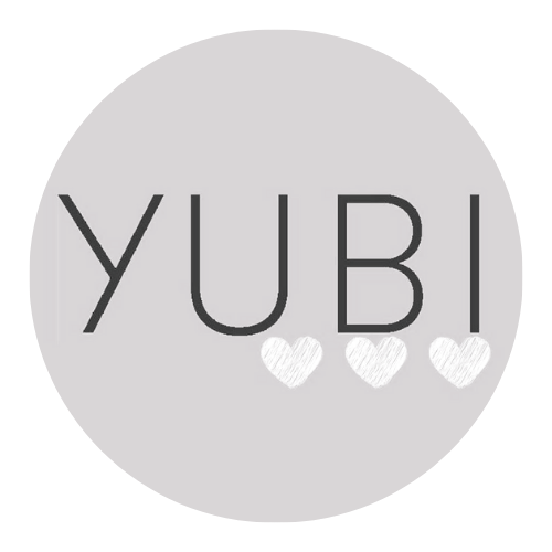 The logo for Yubi, a cruelty-free brand I write content for